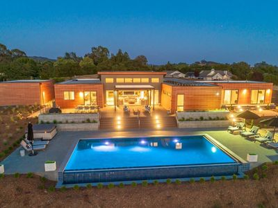 Photo for Xanadu Healdsburg- Luxury Blu Home in the Heart of Wine Country