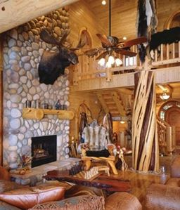 Photo for Luxury Log Home on Lake Michigan