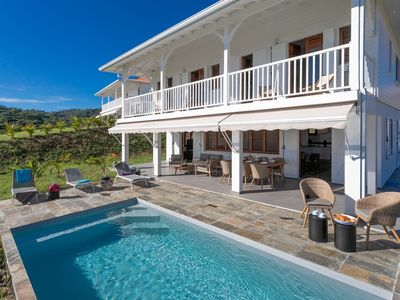 Photo for New villa with pool and sea view