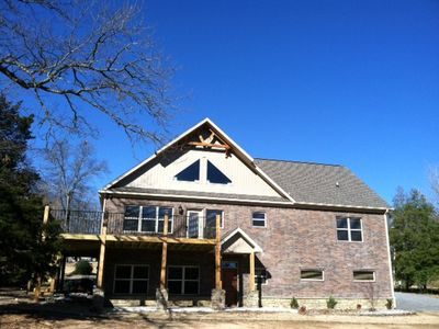 Photo for Lakefront Family Home on One Acre