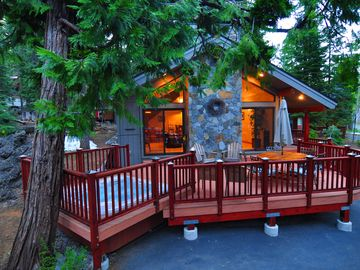 Timberland Retreat  - West Shore 4 BR 4 Bath with Hot tub - Sleeps 9