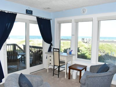 Photo for Oceanfront - Beautiful Inside & Out 1st Floor (Blue Moon Outer Banks Avon NC)