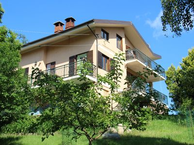 Photo for a house in the middle of the mountains with breathtaking views, nature and relaxation animals