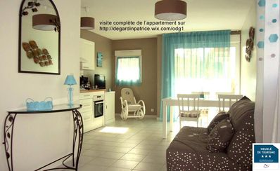 Photo for Appart furnished apartment *** 50m ² + closed private garage + 2 terraces