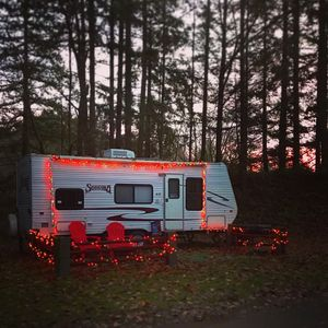 Christmas camping in Woodinville