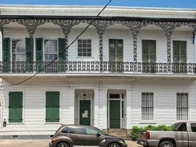 Photo for #3 Gem on Bourbon with Balcony and Courtyard.