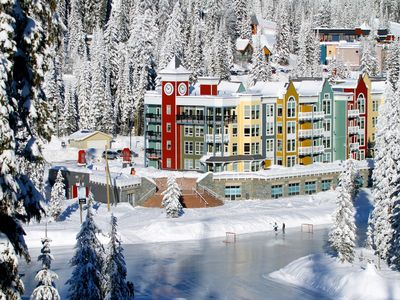 Photo for Couples Retreat! Ski-in/Ski-out Condo at Silver Star Mountain