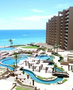 Photo for Beautiful 1 Bedroom Condo With An Oceanview Overlooking The Pool In Phase 1