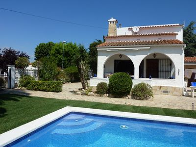 Photo for Villa Panni - Private Heated Pool - Superb Location short walk to all amenities