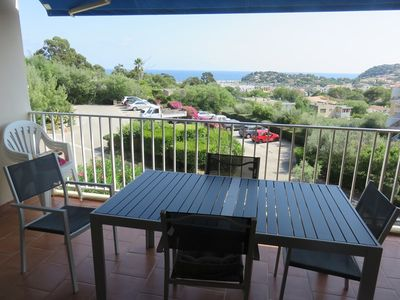 Photo for SPACIOUS T2, VIEW SEA, ENTIRELY RENOVATED, CLOSE CENTER OF CAVALAIRE.