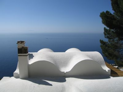Photo for This Moorish Villa perched above the gulf with an amazing view over the sea