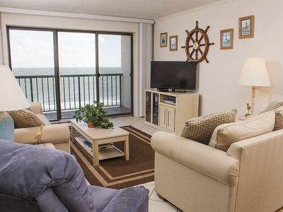 Photo for Expansive Views! Oceanfront w/ Pool & Free Linens - Near Boardwalk (35th St)