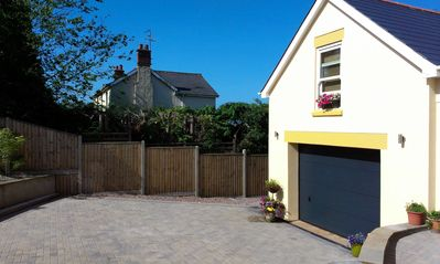 Photo for Self catering apartment in a quiet location on the edge of town sleeps up to 4.