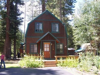Photo for Pinetree-Quaint West Shore Cabin in North Lake Tahoe