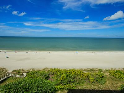 Photo for Stunning, Renovated, 2-bedroom, 2-bathroom, Direct Beachfront Condo with all of the Upgrades!