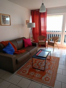 Photo for Duplex 1ch, seafront, beautiful panoramic ocean view. WIRELESS