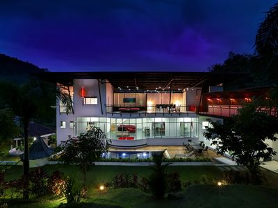 Photo for Private Pool Villa Tropical Living with Mouatin Views