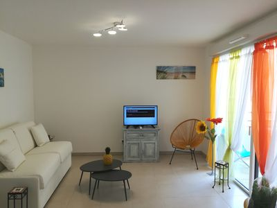 Photo for APARTMENT IN THE HEART OF THE VILLAGE TWO STEPS FROM THE BEACHES