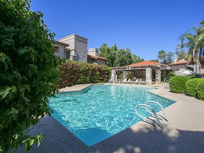 Photo for Scottsdale Condo with Multiple heated Pools and Tennis Courts!
