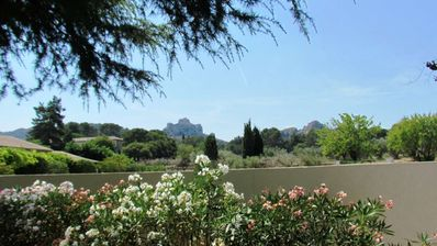 Photo for Very nice traditional house with views of the Alpilles