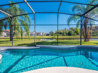 Photo for Lakeview, SOUTH East Facing Pool,3 Br-2 Bath, 10 Min To Disney