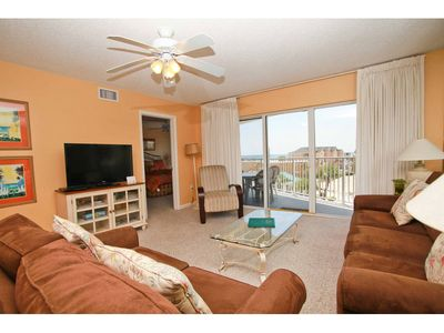 Photo for SeaCrest 405 - Beautiful sunsets and views of the Inter-coastal Waterway and the Gulf of Mexico