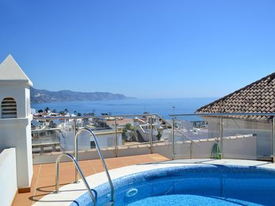 Photo for Nerja Paradise Rentals - City Center Apt Plaza España