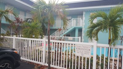 Photo for 2 Blocks From Beach. Waterfront, Pool, Private Boat Dock. 940 Sq Ft 2 Bdrm1 Bath