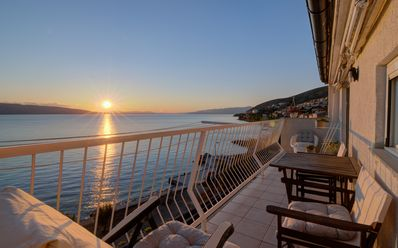 Photo for Apartments Senj - Deluxe Apartment with Sea View