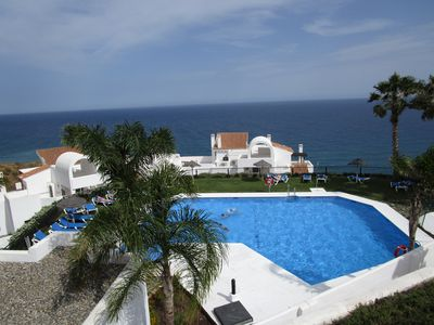 Photo for VERY QUIET APARTMENT WITH FANTASTIC SEA VIEW. URB. CALACEITE TORROX