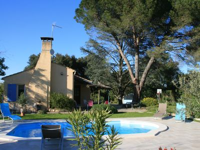Photo for HOLIDAY HOUSE Gard- Bridge between Nimes-Arles-Avignon - Comps (Gard