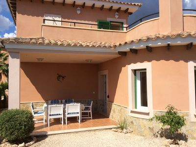 Photo for Lovely 2 Bedroom Detached Villa with Garden, Fantastic Communal Pool, WiFi