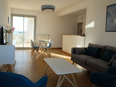 Photo for LUMINOUS APARTMENT ON THE SEAFRONT IN PALAVAS-LES-FLOTS FOR 4 PEOPLE