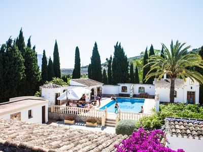 Photo for Finca/Villa with absolute privacy, large swimmingpool and close to beaches etc.