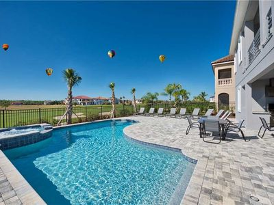 Photo for Luxurious 13BR / 13BA Home | Private Pool and Spa + Game Room