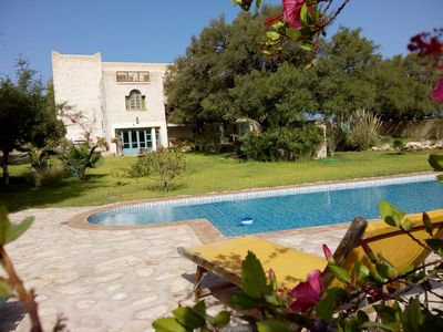 Photo for charming villa with private pool and exceptional views, in the countryside,