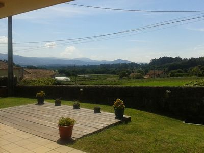 Photo for Modern house in Galician style with stunning views of vineyards and Portugal