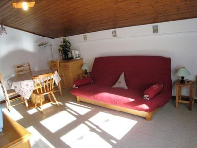 Photo for Apartment La Clusaz, studio flat, 4 persons