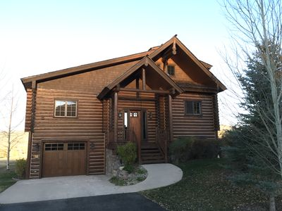 Photo for Wonderfully Located Teton Springs 4 Bedroom, 4.5 Bath Luxury Cabin