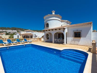 Photo for BRAM, villa in Calp, fully equipped for your holidays to the sea  free wifi