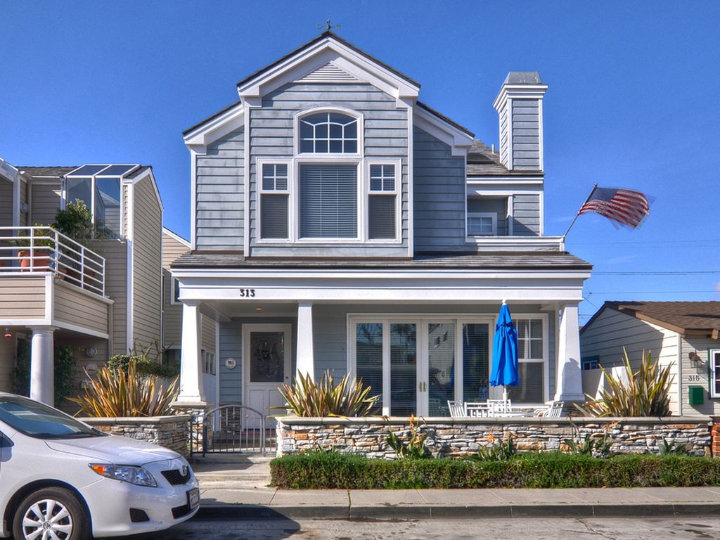 Roof Top Deck Balboa Island 3 Story Single Vrbo