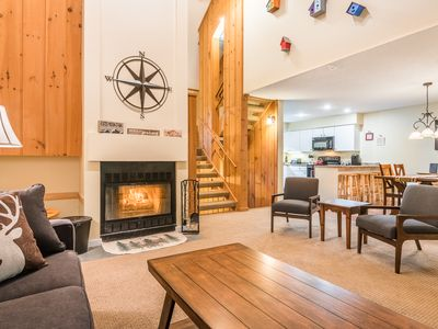 Photo for Clearbrook Mountain Townhouse Minutes from Loon and Right on the Kancamagus!