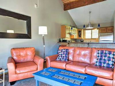 Photo for Townhome w/ Views - Walk to Crested Butte Lifts!