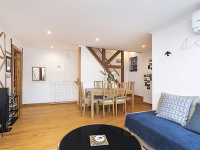 Photo for Duplex apartment in the heart of Alfama with AC