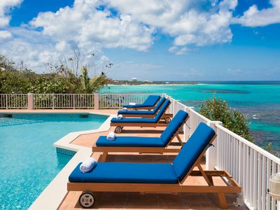 Photo for Villa Romeo by Refined Retreats- Oceanfront and less than 5 minutes to Shoal Bay East!