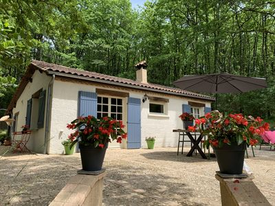 Photo for Deffé Dordogne - completely renovated house on the forest