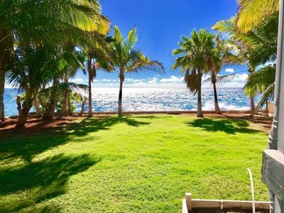Photo for ⭐️Beachfront⭐️Sunset View ⭐️ Private Secure Yard⭐️
