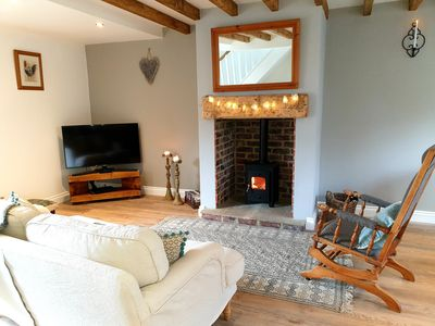 Photo for Aquila Cottage; Luxury self catering on Hadrians Wall. Log Burner. Adults Only.