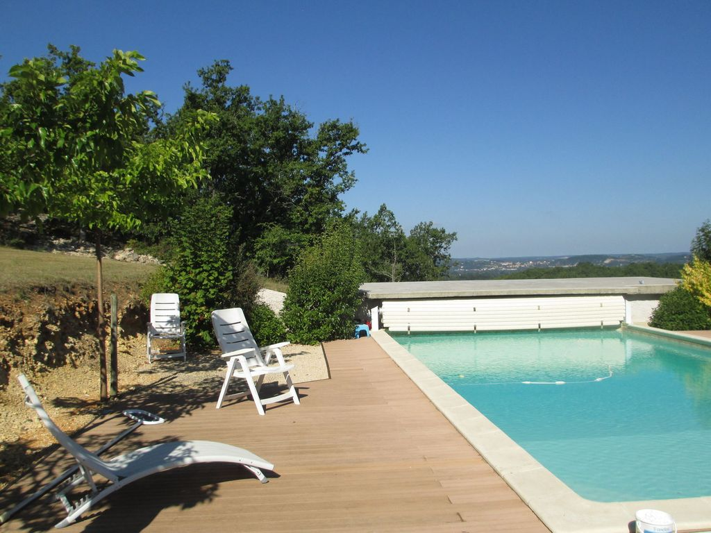 Lovely Holiday Home Near Maroux With Private Swimming Pool And Stunning View Mauroux Midi