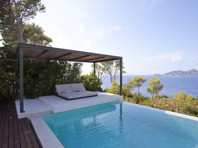 Photo for Modern architect villa with breathtaking sea views.